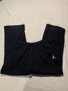Mens Jordan Black SweatPants Sz XL EUC NO TEARS 32x30
