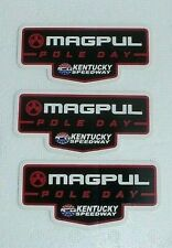 3 MAGPUL POLE DAY KENTUCKY SPEEDWAY DECAL STICKERS 2020 SHOT SHOW NEW AUTHENTIC
