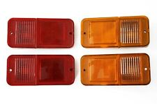 (4) 68-72 Chevy C10 Truck Standard Amber & Red Side Marker Light Lamps Set