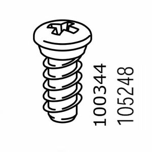 8x  IKEA EURO SCREW CXN WITH NECK 13MM PART # 100344 / 105248