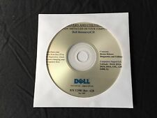 Dell Latitude D610 D810 X1 D400 D510 D410 XP Drivers CD DVD Disc