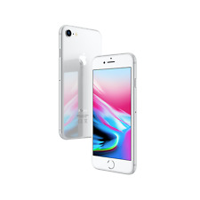 Apple iPhone 8 64GB Factory Unlocked - Silver Smartphone A1863 4K IP67 64 GB LTE