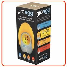 ❤ Gro Egg Digital Room Thermometer & Night Light Nursery Lamp Aus Model Company❤