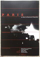 Dossier de Presse PARIS Raymond Depardon *a