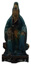 Fine Chinese Ming Dynasty Statue of Kwan Yin & Child