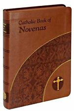Catholic Book of Novenas NEW Leather Cover Faith Perfect Gift!