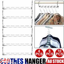 20PCS Space Saver Saving Wonder Metal Magic Hanger Clothes Closet Organize Hook