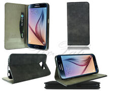 Samsung Suede Mobile Phone Wallet Cases