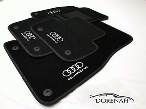 Tappeti tappetini per Audi A6 C7 2011-2018 PERSONALIZZABILI