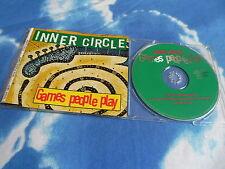 INNER CIRCLE - GAMES PEOPLE PLAY 4 MIX Reggae 1994 GERMAN CD Single