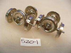 """BRASS ON3 Precision 26"""" Denver Griffin Wheelsets blunt tip #520-1 pkg.4"""