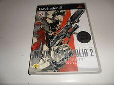 PlayStation 2 PS 2 Metal Gear Solid 2: Sons of Liberty (+ Bonus DVD)