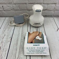 CONAIR Body Tone Model BT12 Massager Personal Massage System Rotating Fingers K1