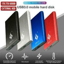 Externe Festplatte HDD 2.5 '' Fit für PC Windows Portable USB 3.0 2 TB 1 TB DHL