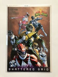 Might Morphin Power Rangers #25 Shattered Grid   [Boom Studios] *VF* MO6-205