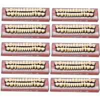 560pc 20Set Denture Acrylic Resin Full Set Teeth Upper Lower Shade 23# A3 Dental