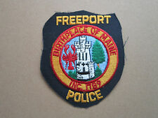 Freeport Woven Cloth Patch Badge (L1K)
