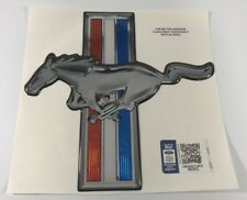 Universal Adhesive Decal For Ford Mustang (Tri Bar Pony Emblem)