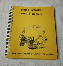 VERNON, TX 1983 FIRST UNITED METHODIST CHURCH WOMEN'S COOK BOOK