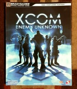 XCOM Enemy Unknown Bradygames Official Strategy Game Guide