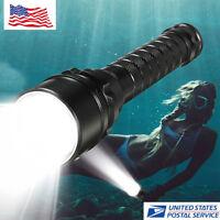 Waterproof 50000LM 3x T6 LED Scuba Diving Flashlight Underwater 100M Torch 18650