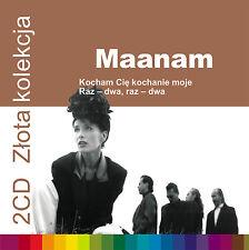 2CD MAANAM Złota kolekcja vol. 1 & 2 Kocham cię kochanie moje / Raz dwa raz dwa