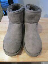 UGG Australia UK 6.5 EU 39 US 8 GREY Sheepskin Short Boots  RRP £159.99
