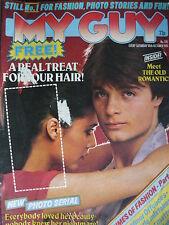 MY GUY MAGAZINE 10TH OCT 1981 - FLINTLOCK - DAVID ESSEX