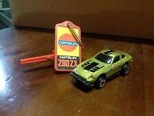 Modellino Datsun 280 ZX con chiave meccanismo a molla with key