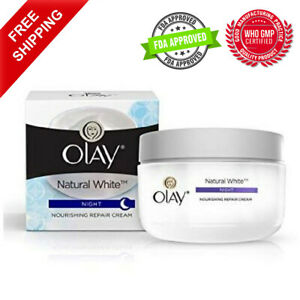 Olay Natural White Skin Night Fairness Cream 50g All in one Nourishing Repair