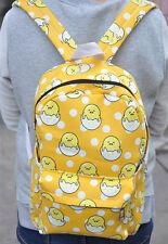 """Gudetama sitting egg 15"""" backpack shoulder bag laptop bags  Big AZ16 NEW"""