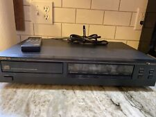 New ListingNakamichi Oms 1A Compact Disc Cd Player Single Tray Japan 1988 Vintage Tested