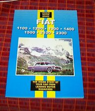 FIAT 1100 1200 1300 1400 1500 2100 2300 ROAD TEST REPRINT BOOK TECHNICAL GUIDE