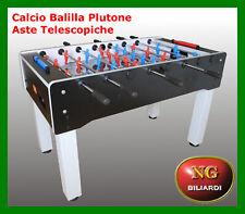 Calcio Balilla PLUTONE - aste telescopiche - vetro temperato - NG BILIARDI - CAL