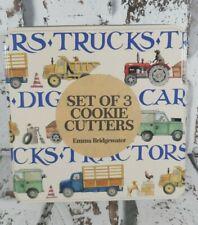 Emma Bridgewater Set 3 Cookie Cutters Men At Work Baking Kitchen Utensils
