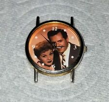 I LOVE LUCY WRIST WATCH no band Lucille Ball Desi Arnaz MTM stainless Japan Mvmt
