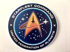 Star Trek Starfleet Command Logo Car Laptop Bumper Vinyl Sticker Decal