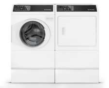Speed Queen 7 Series Front Load Washer & Dryer in White