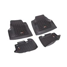 Floor Liners Mats Kit Front & Rear Jeep Wrangler for 97-06 12987.10 Rugged Ridge