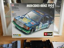 Modelkit Metalkit Bburago Burago Mercedes 190E on 1:25 in Box