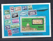 Central African Republic # C187 MNH  Zeppelins US  Capital Washington DC