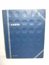 Coin Collector's Book #9041 of 84 U.S. Pennies From 1890 to 1936