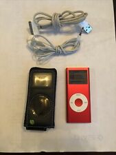 Apple iPod nano 2nd Generation Red (8 Gb) Tested Workout Running Case Bundle
