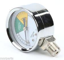 Pressure Gauge 2 Dia 0 30 Psi 14 Mpt For Henny Penny Fryer 500 16910 621053