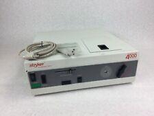 STRYKER Endoscopy Quantum 4000 Light Source 220-170-000  Powers On  w/Power Cord