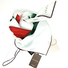 Authentic Gucci silk scarf NWT 90cm X 90cm