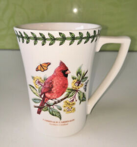 PORTMEIRION Botanic Garden Birds - Fluted Mug - New & Unused