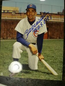 Billy Williams signed color 8x10