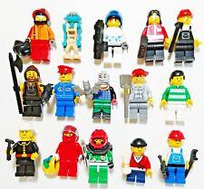 Lego® FIGUREN mit viel ZUBEHÖR City Indianer Piraten Sports Train Starwars Nr.6