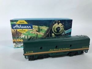 Athearn 3030 Northern Pacific NP F7-B Dummy Train Engine Kit HO Vintage NEW